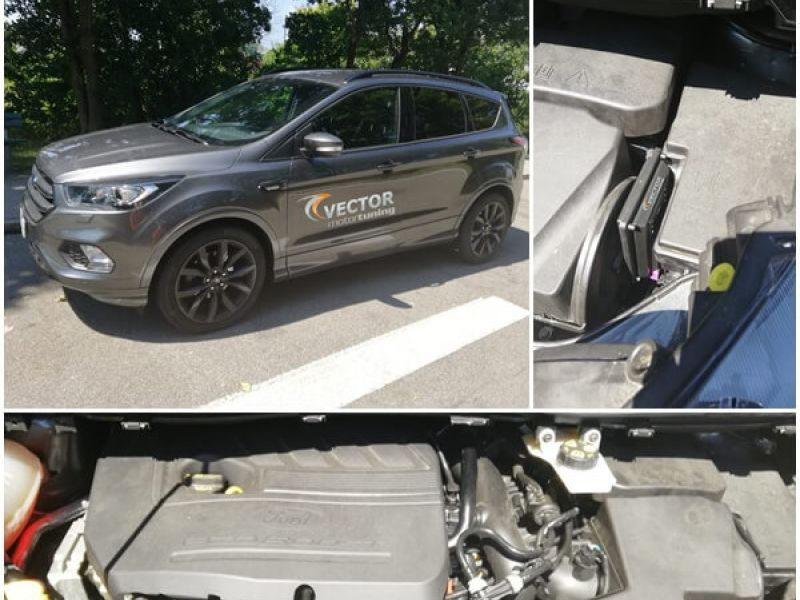 Ford Kuga II 1.5 EcoBoost 150PS tuned with 'W KeyPad Module'