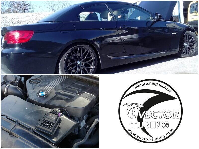 BMW 320d (E93) tuned with W KeyPad Module