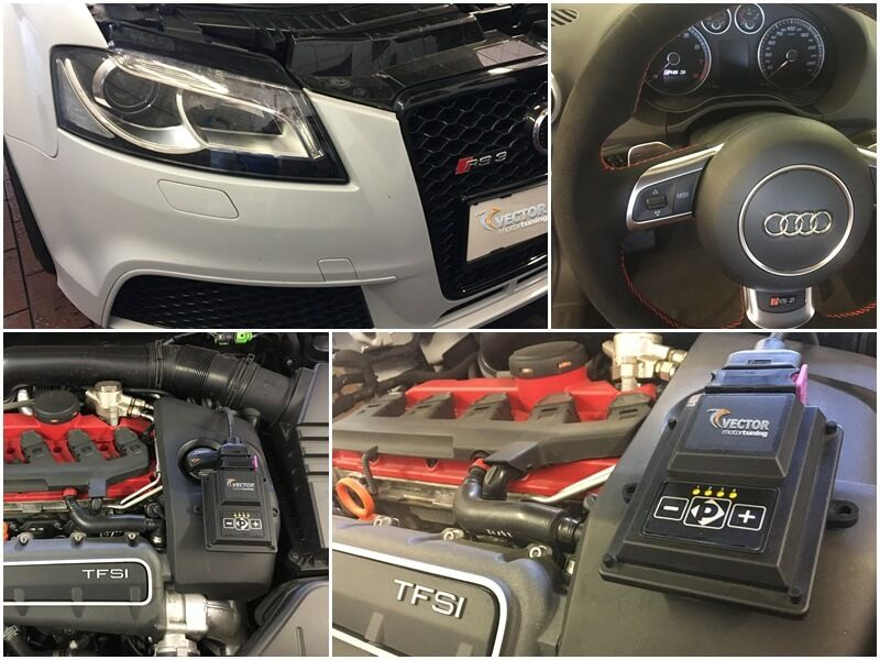 Audi TT RS Coupe 2.5 TFSI tuned with Vector 'W KeyPad SENT Module'